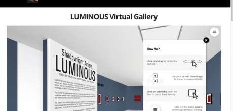 Crossing Boundaries 3: Shadowlight Artists Present Luminous.
