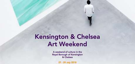 Kensington and Chelsea Art Weekend 27th-29th July 2018
