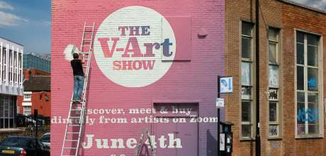 The V-art Show - A Brand New Art Experience For A World In Lockdown