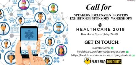 15th Edition Of International Conference On Healthcare