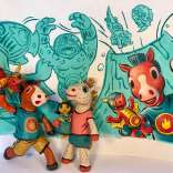 Adult Masterclass: 3d Maquettes For 2d Children's Illustration With Jeff Crosby