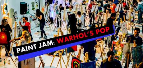 Paint Jam: Warhol's Pop- Al Fresco & Live Stream Paint Party
