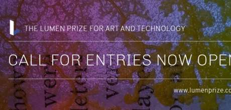 Open Call: The Lumen Prize For Art And Technology 2019