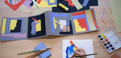 Drawing Workshop · Shaping Stories · With Artist Educator Gabrielle Lockwood Estrin