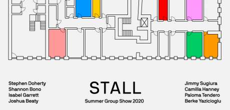 Sarabande Foundation Summer Group Show 2020 'stall'