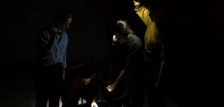 Cavadoras, 'Eine halbe Treppe tiefer' at Perch Arts
